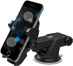 ELV Car Mount Adjustable Car Phone Holder Universal Long Arm, Windshield for Smartphones - Black