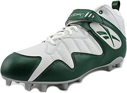 b583da19a Reebok Pro All Out ONE MID MP Mens Football Cleats White Green