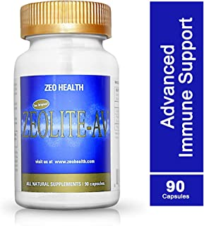 Zeolite–AV Capsules | Potent Immune System Booster with Humic Acid | Restore Trace Minerals, Replenish Electrolytes, Remove Toxins | Promotes Energy, Restful Sleep, Alleviates Brain Fog (90 Count)
