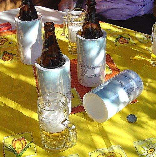 Belykühlt Flaschenkühler Bierkühler immer kühle Getränke EM Fußball cool (hält auch warm)