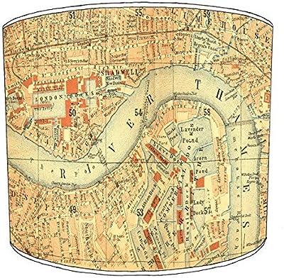 Premier Lampshades 20,3/cm Plafond Vintage London Abat-Jour imprim/é 12 20,3 cm