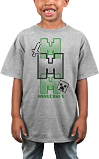 Official  Mojang Minecraft Boys Hoodie Tshirt or Shorts Age 5-15 Years BNWT