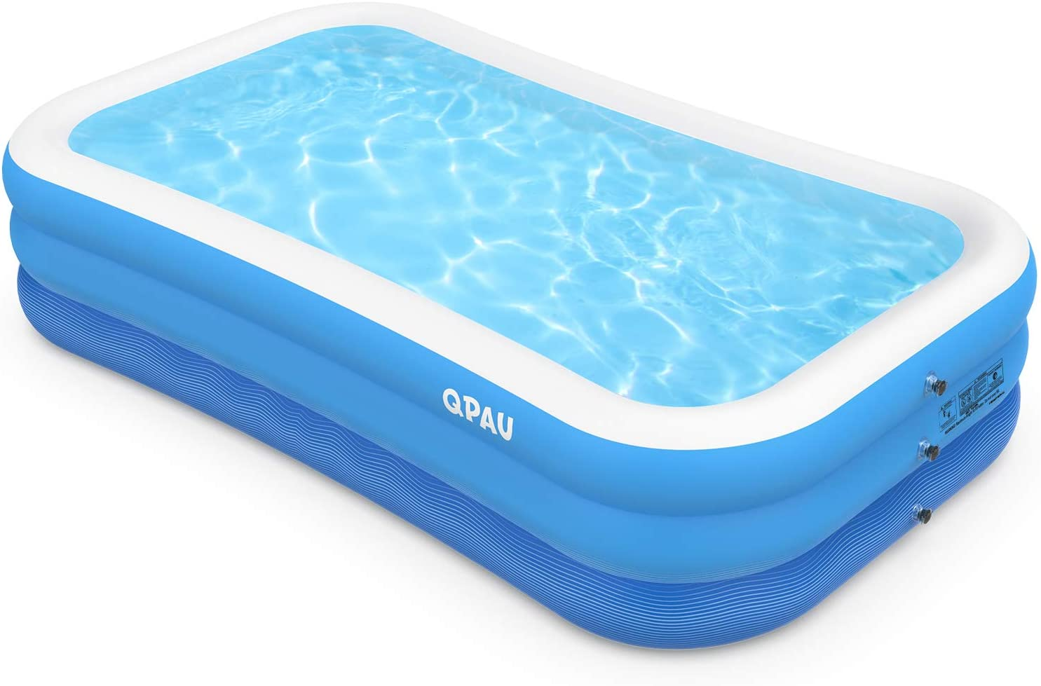 """QPAU 118"""" x 72"""" x 22"""" Inflatable Swimming Pool $24.99 Coupon"""