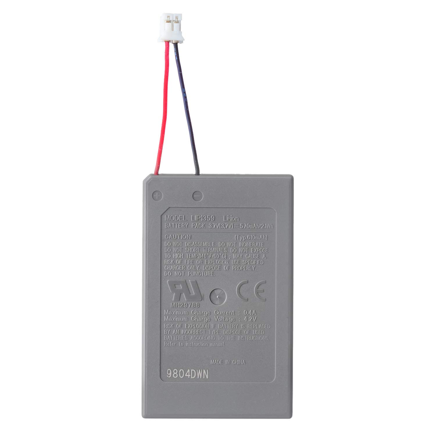 OSTENT Wireless Sale San Diego Mall Controller Battery f Replacement Compatible Pack