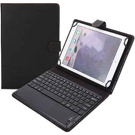 Eboxer 2 en 1 Funda Protectora con Teclado Bluetooth Inalámbrico para Tableta Compatible con Android/iOS/Windows para Tableta de 9.7-10 Pulgadas