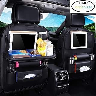 Auto R/ückenlehnenschutz R/ückenlehnen Kinder R/ücksitztasche 2Pcs Autositzschutz f/ür das iPad Transparente und mehrfache Taschen f/ür die Aufbewahrung von Spielzeug//B/üchern//Flaschen