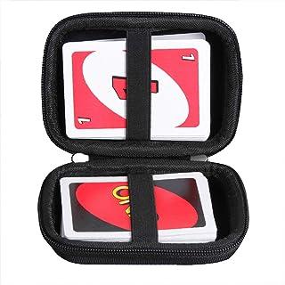 ウノ UNO カードゲーム B7696専用収納ケース-Adada(トランプを除く) (ブラック)