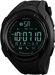 Bluetooth Smart Watch Men Fashion Sports Watches Pedometer Calories Waterproof Digital Wristwatches For Apple IOS Android ...