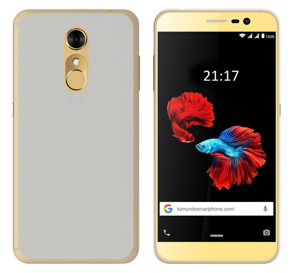 Tumundosmartphone Funda Gel TPU para ZTE Blade A910 Color ...