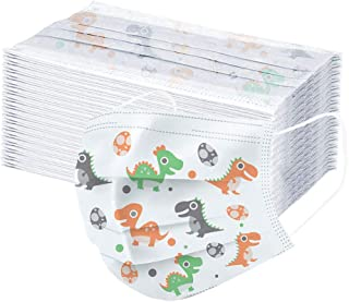 50 Pcs Children's Oral Protective Sleeve,Disposable Cover for Kids Cute Cartoon Oral Protection 3-ply Filter Skin-Friendly Dustproof Cover,High Filtration and Ventilation Security