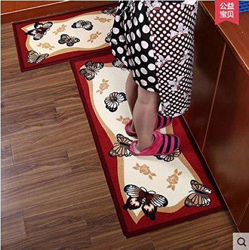 MU Tapetes de Cocina, Tiras largas de alfombras IKEA absorbentes Antideslizantes, felpudos,...