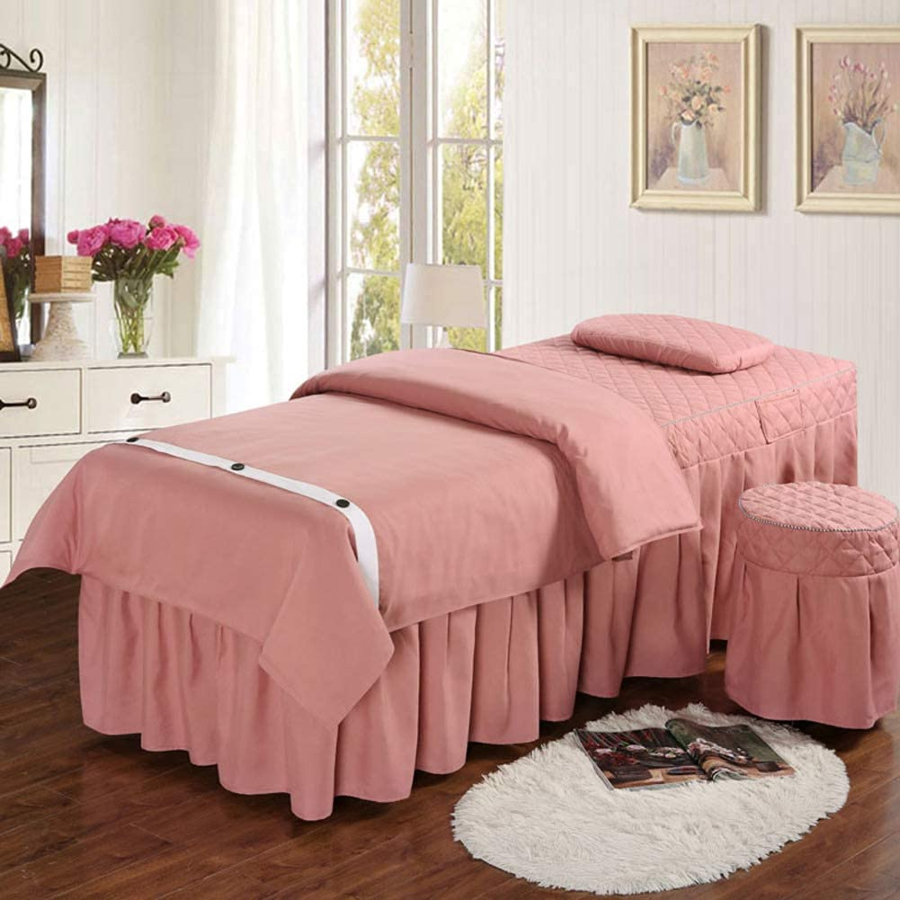 Chilechuan SPA Ranking TOP10 Treatment Beauty Salon Massage Bed Table Max 89% OFF Skirt,
