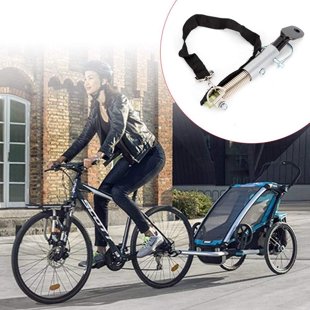 Z&Y Adaptador de Barra de Remolque para Bicicleta de Seguridad ...