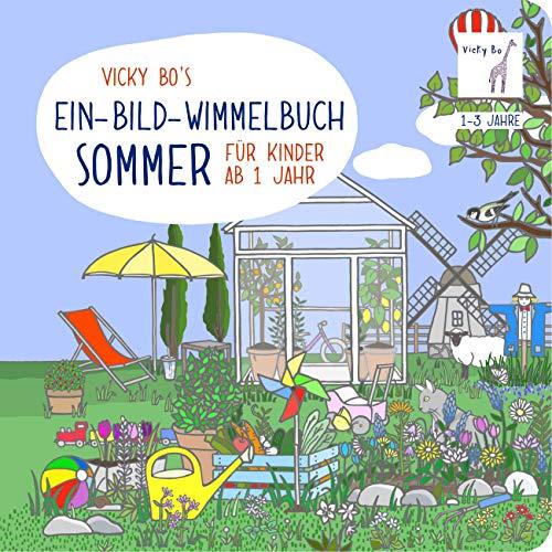 Ein-Bild-Wimmelbuch Sommer ab 1 Jahr