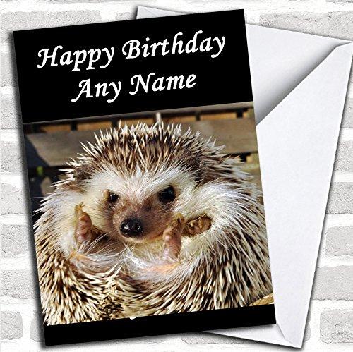 Leuke Egel verjaardagskaart met envelop, volledig gepersonaliseerd, snel en gratis verzonden