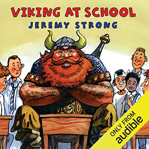 Viking at School audiobook cover art