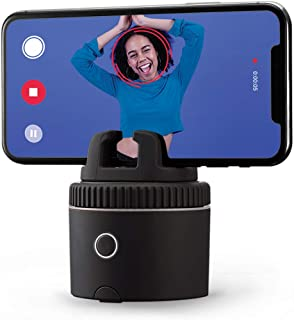 Pivo Pod Silver - Fast Auto-Tracking Smartphone Interactive Content Creation Pod – 360° Hands-Free Photos or Videos to Capture Active Lifestyles, Sports & Adventures – Special FX for iPhone or Android