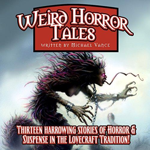 Weird Horror Tales audiobook cover art