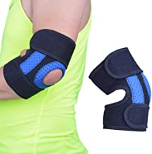 Hamkaw Adult Elbow Immobilizer Stabilizer Support Brace/Splint, Elbow Compression Support Brace for Tendonitis Prevention Recovery Joint Pain Relief Golfers Weightlifting Basketball Sports Stabilizer