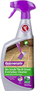 Rejuvenate Non-Toxic Bio-Enzymatic Safe and Scrub Free Tile and Grout Cleaner Lightens and Brightens Every Time – 32oz