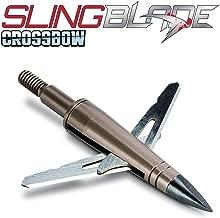 NAP Slingblade Crossbow Mechanical Broadhead 2 Blade 125 Grain Three Pack