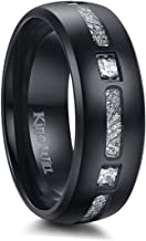 King Will Mens Titanium Wedding Ring for Men and Women Engagement Ring