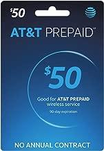 AT&T Prepaid $10-100 Refill Card