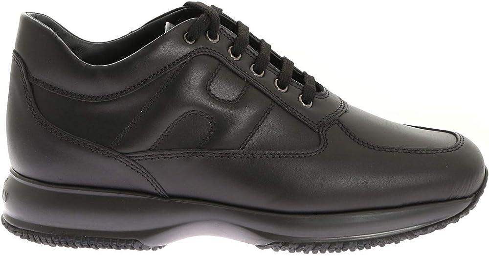 Hogan interactive uomo sneakers in vera pelle hog-hxm00n09042klab999-inter-n
