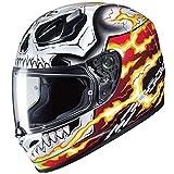 HJC - Casco integral de motocicleta FG-ST Marvel Ghost Rider
