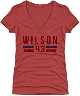 Tom Wilson Women's Shirt - Washington Hockey Shirt for Women - Tom Wilson Font