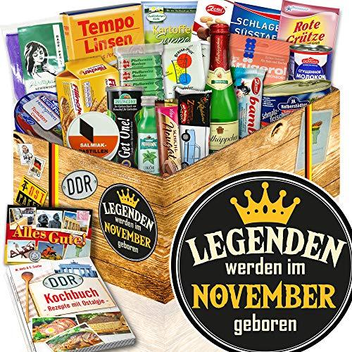 Legenden November - November Geschenkset - Spezialitäten Nostalgiebox