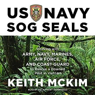 US Navy SOG SEALs audiobook cover art
