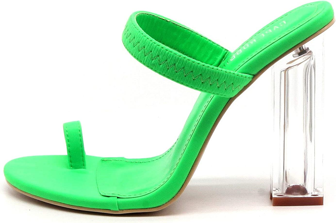 Cape Robbin Women's Macaroon Cheap Block Chunky Cheap mail order shopping Sandals Heeled High
