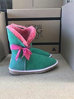 Papaya Betty Bow UGG Boots
