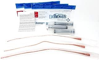 Lifeline 8Fr Red Tube Feeding Kit - 3 Part