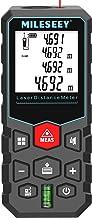 Mileseey Medidor de distância a laser de 40 m, ± 2 mm de precisão com modo pitagórico, distância, área e medição de volume...