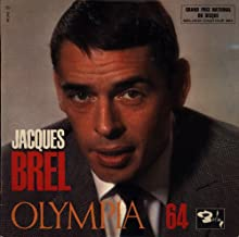 Jacques Brel - Olympia 64 - Barclay - 80 243 S, 80243, BLY 80243 NM/NM 10