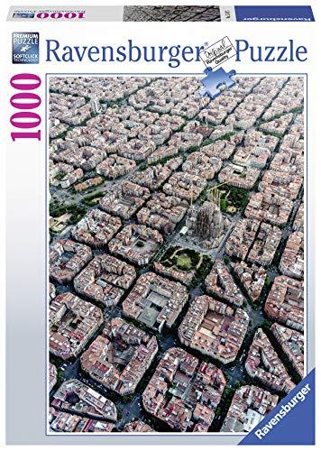 Ravensburger Puzzle 15187 - Barcelona von Oben - 1000 Teile