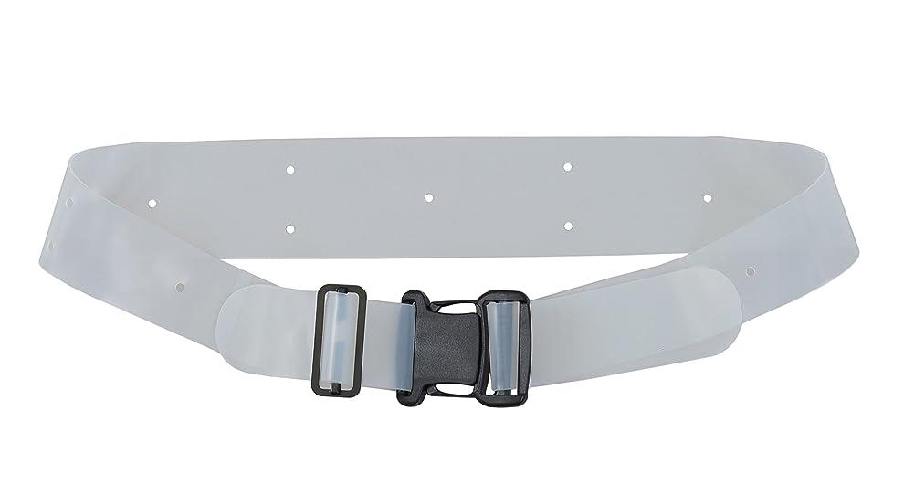 収束する耐久ハイランド薄型シリコーン製 骨盤ベルト バックル式