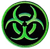 Biohazard Symbol Embroidered...image