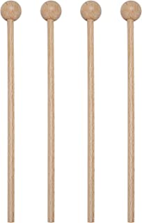 Wood Mallets Percussion Sticks for Glockenspiel,Xylophone,Chime,Bell,Woodblock,8 Inch
