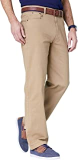 Pegasus Mens Twill Stretch Jean with Side Elastic Waist