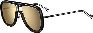 FENDI - Gafas de Sol FUTURISTIC FF M0068/S BLACK/GOLD 57/19/145 hombre