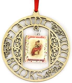 Northanger Abbey Jane Austen Regency Fashion Clay Mini Book Framed Home Wall Decoration Ornament