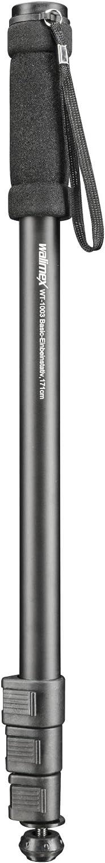 Walimex Pro WT-1003 - Trípode monopíe de Aluminio, Color Negro