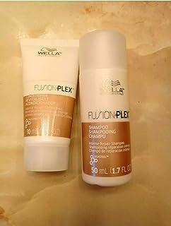 WELLA Fusion Plex Shampoo & Conditioner ~ (1.7 fl oz each) Travel Size Set
