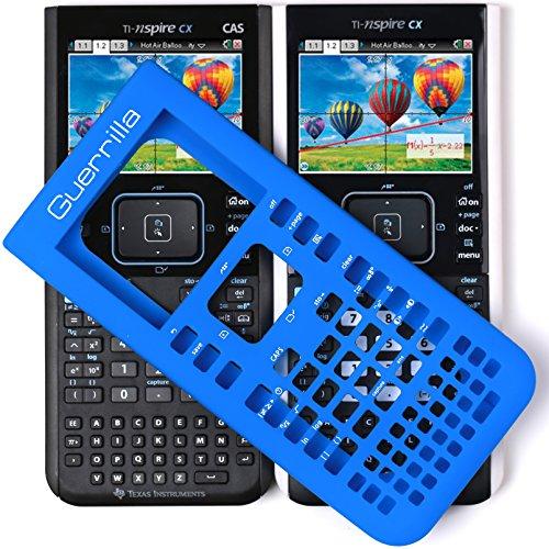 Guerrilla Silicone Case for Texas Instruments TI Nspire CX/CX CAS Graphing Calculator, Blue Photo #5