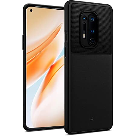CASEOLOGY Back Cover For OnePlus 8 Pro ( TPU Black )