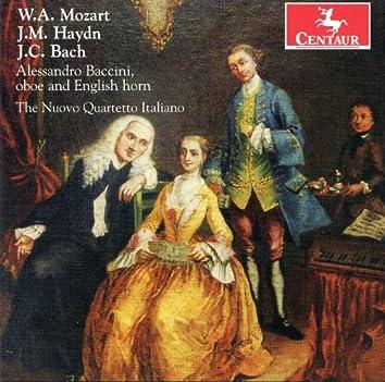Mozart: Oboe Quartet - Haydn: Divertimento - J.C. Bach: Oboe Quartet