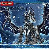 YYGE Dragon - Juego de construcción de bloques de construcción, 1388 piezas, juego de juguetes Frost Dragon compatible con Lego
